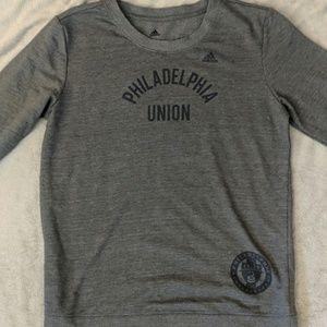Addidas vintage Philadelphia Union long sleeve